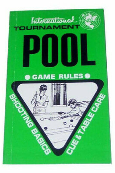 International Tournament Pool Game Rules,Shooting Basics,Cue&Table Repair Guide