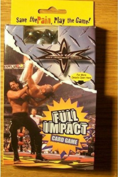 World Championship Wrestling Full Impact Card Gam