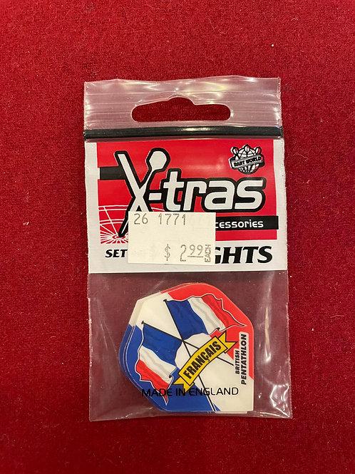"""X-tras """"Dart World"""" Francais Flights"""