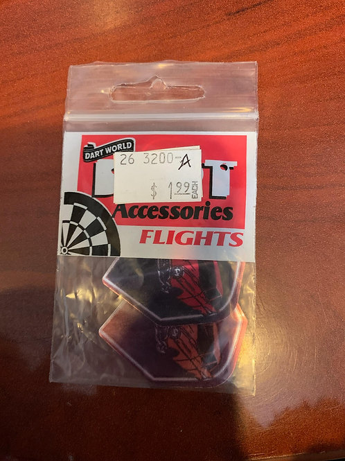 Red Car Flights - Set of 3
