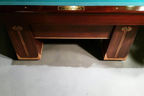 Brunswick 9' pool Table Monarch Cushions