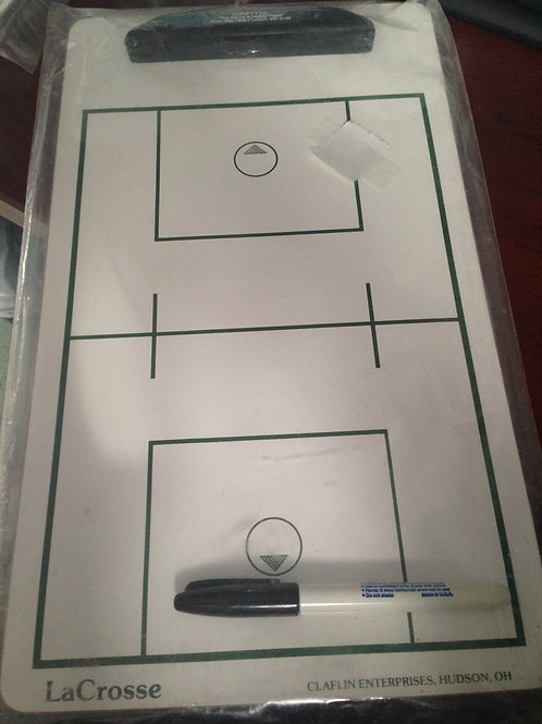 LaCrosse Dry Erase Coaching Boards