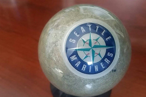 Seattle Mariners Cue Ball