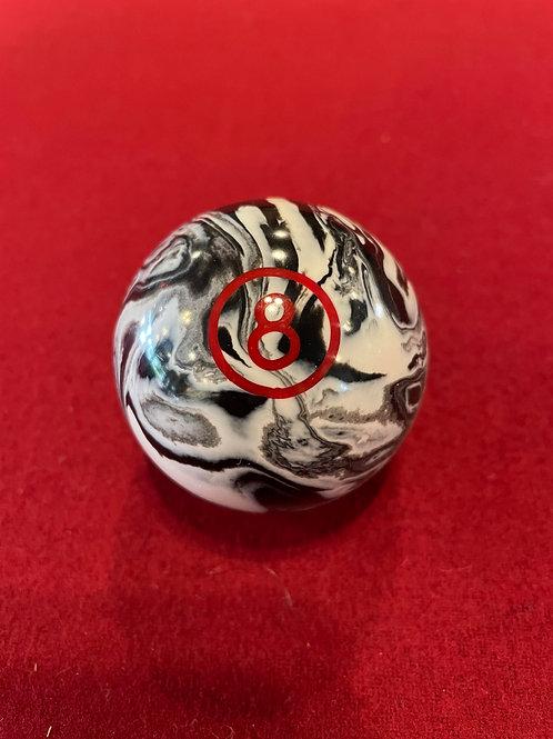 Marble 8 ball