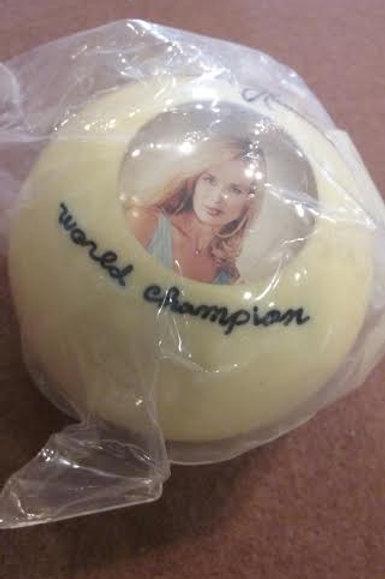 Ewa Laurance World Champion Cue Ball