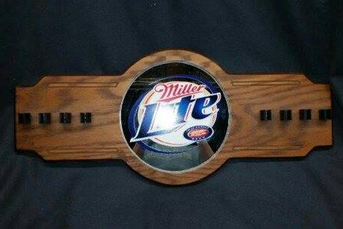 Miller Lite Pool-Cue Rack