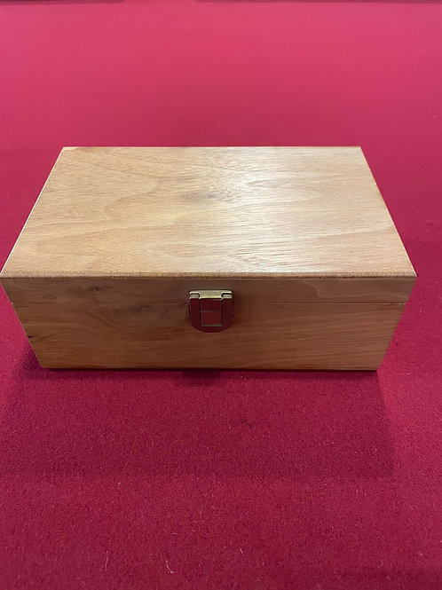 Wooden Chess box with pieces