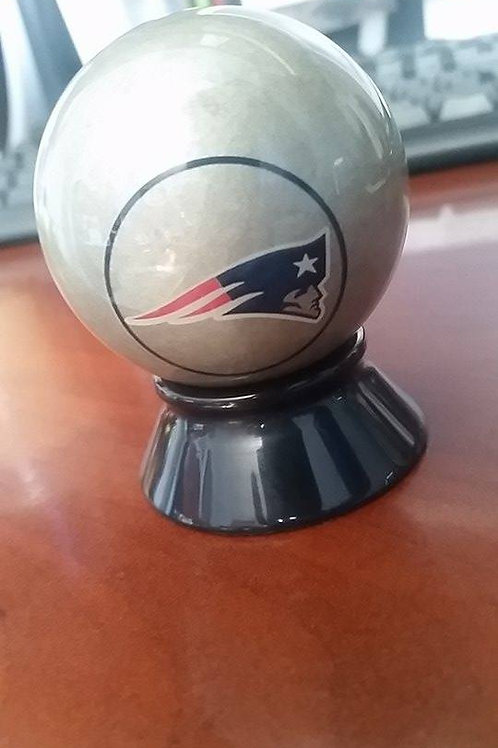 New England Patriots Cue Ball