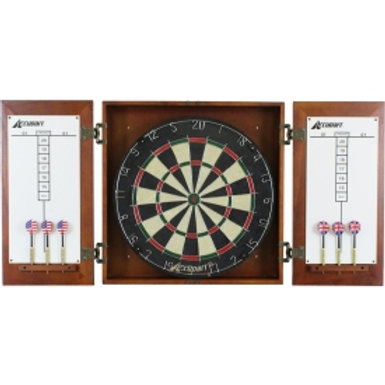 Supreme Dartboard Cabinet Set