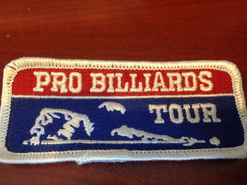Pro Billards Tour Patch