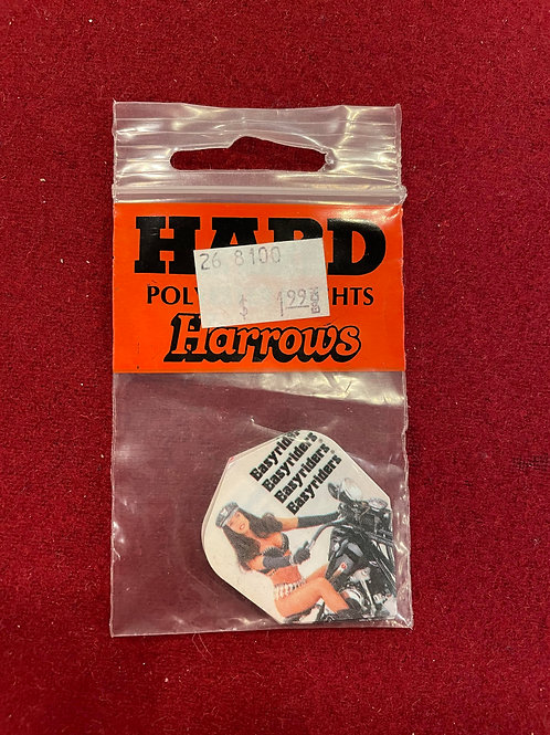 Harrows Hard Polyester Flights - Set of 3