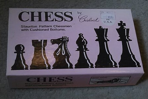 Chess Pieces By Crisloid