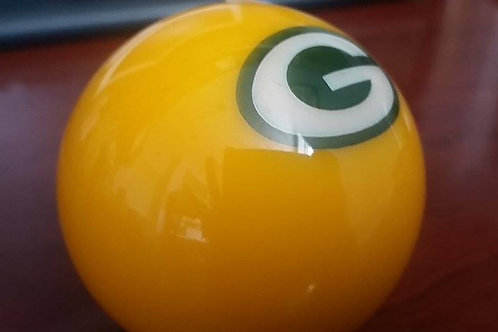 GreenBay Packers Cue Ball
