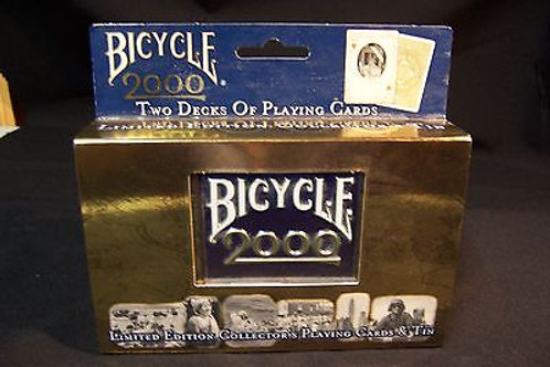 Bicycle 2000 Limited Edition Cards and Tin