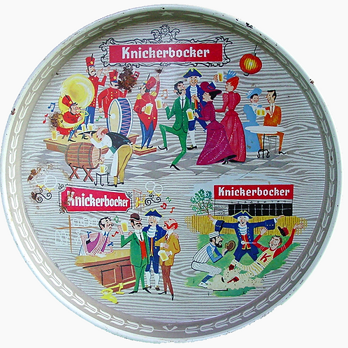 Knickerbocker beer tray