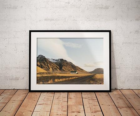 Icelandic Hills Print