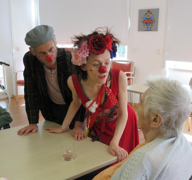 Coeur de Clown dans les EHPAD de Strasbourg !