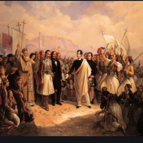 Θ. Βρυζάκης: Άφιξη του Λόρδου Βύρωνα στο Μεσολόγγι