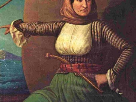Η Λασκαρίνα Μπούμπουλη..  γνωστή ως Μπουμπουλίνα!