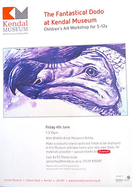 The Fantastical Dodo at Kendal Museum