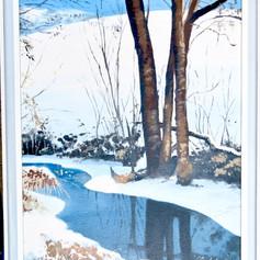 Original Oil Painting by S Shepherdion 1977