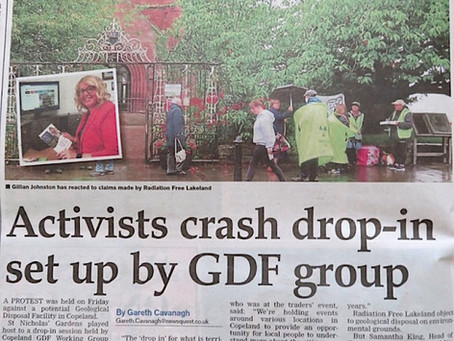 """Activists Crash Drop In Set Up By GDF Group"""