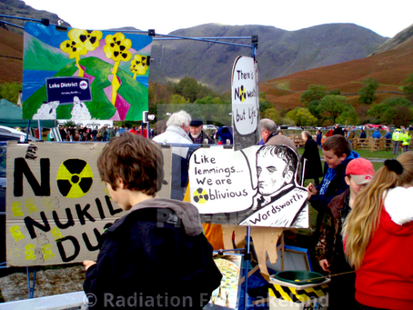 This FRIDAY 30th July in Whitehaven:  NO TO NUCLEAR DUMP