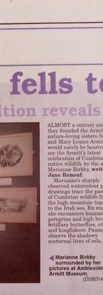 Armitt Gallery Exhibition