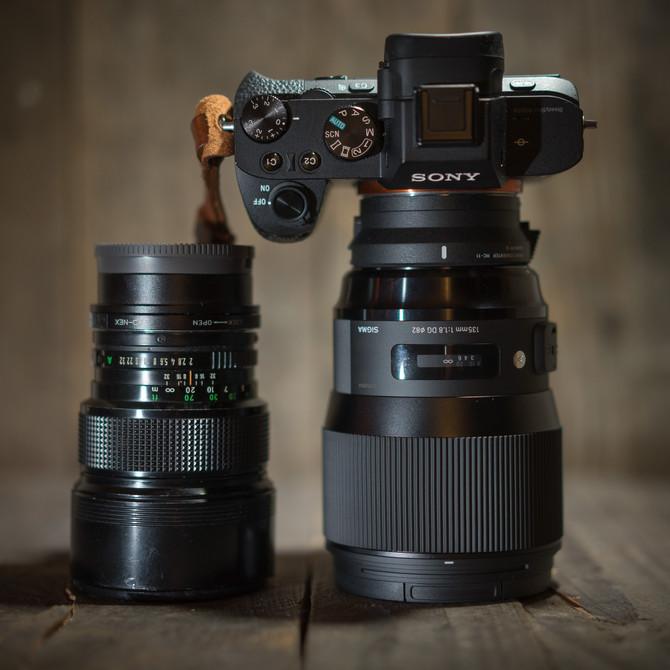 Sigma Art 135mm - Bokeh Pano King