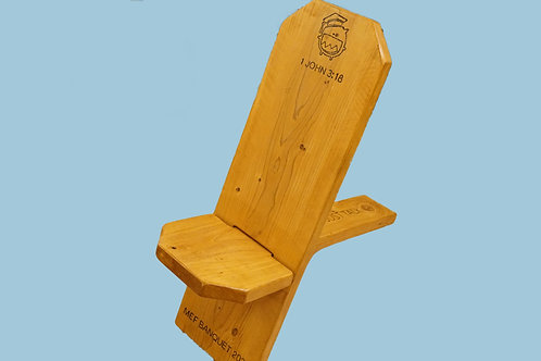 Original Handcrafted Viking Chair- Personalized