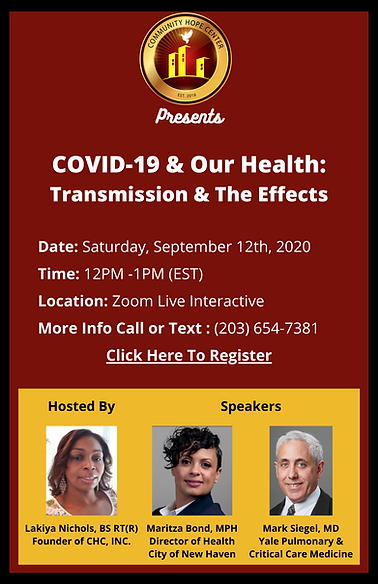 COVID-19 & Our Health_ Transmission & Th