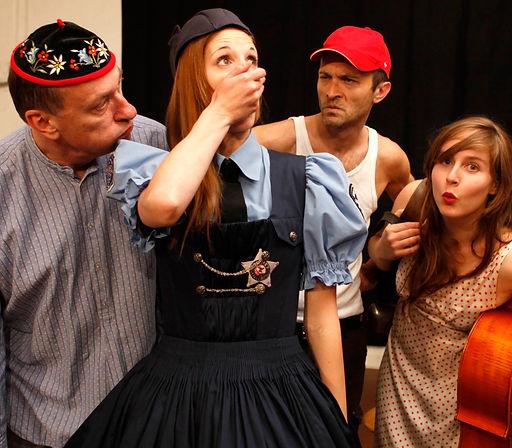 Stimmarbeit mit Schauspielern, Tänzern und Performern
