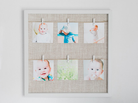Moduri în care îți poți decora casa cu fotografii