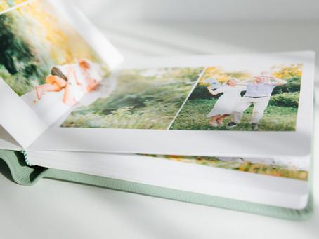 Albumul foto, un cadou atemporal și emoționant pentru cei dragi