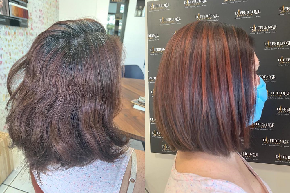 couleur lumineuse différence coiffure