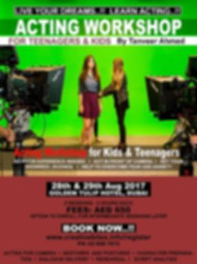 Acting Workshop for Kids