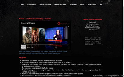 Video Lecture Module