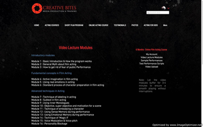 List of Video Modules