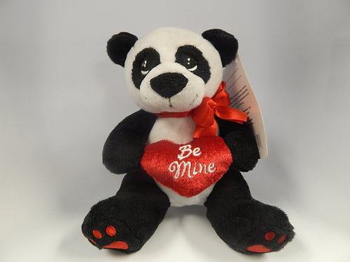 Precious Moments Valentine's Day Panda Plus