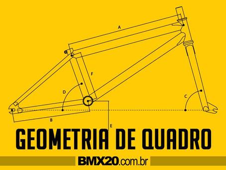 GEOMETRIA DO QUADRO DE BMX