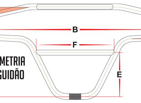 GEOMETRIA DE GUIDÃO | BMX