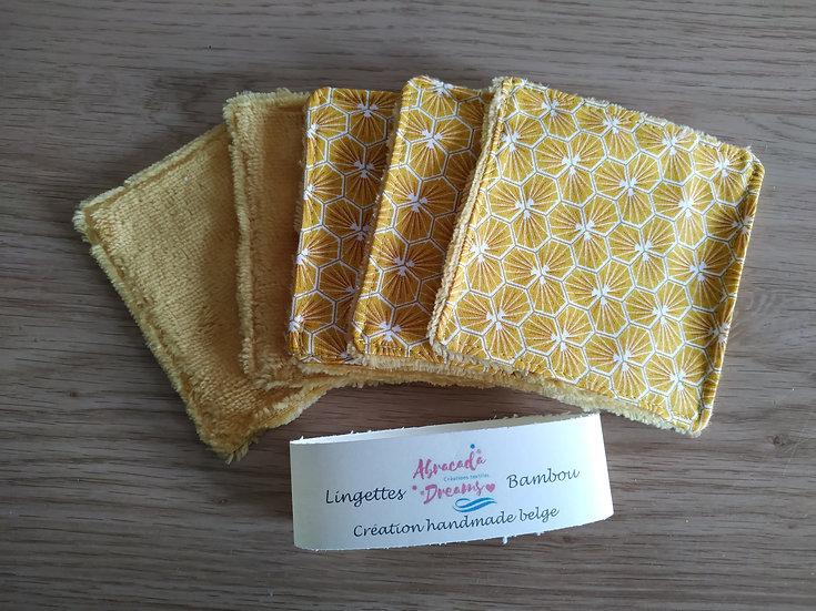 Coton démaquillant 10 x 10 cm