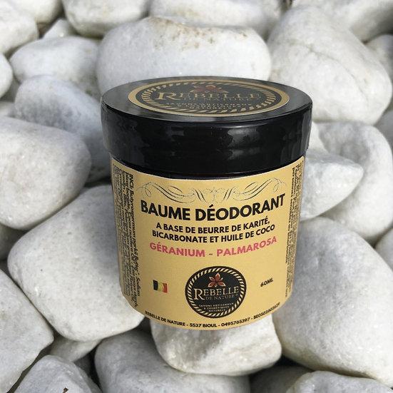 Baume déodorant - géranium / palmarosa (60ml)