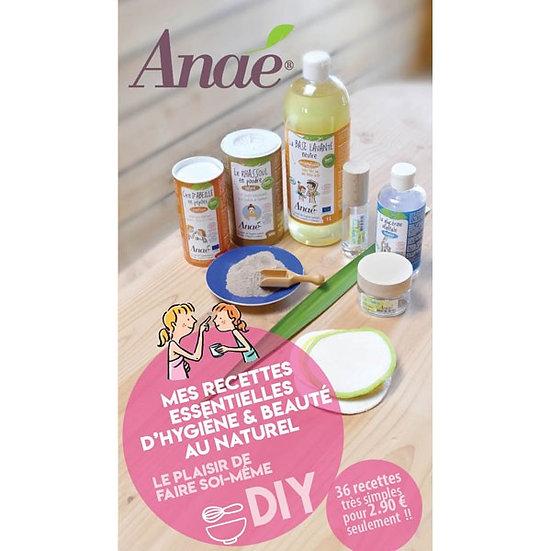 Carnet de recettes essentielles d'hygiène et beauté au naturel