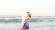 Raven + Brian | Padre Island National Seashore Engagement Session