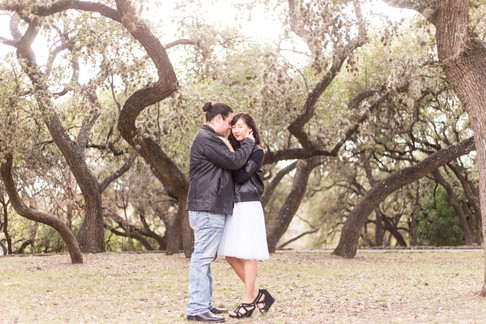 Jihye + Vinny | Denman Estate Park | San Antonio, TX Engagement