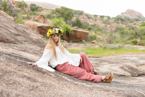 Morgan | Enchanted Rock | Boerne High School | Fredericksburg, TX