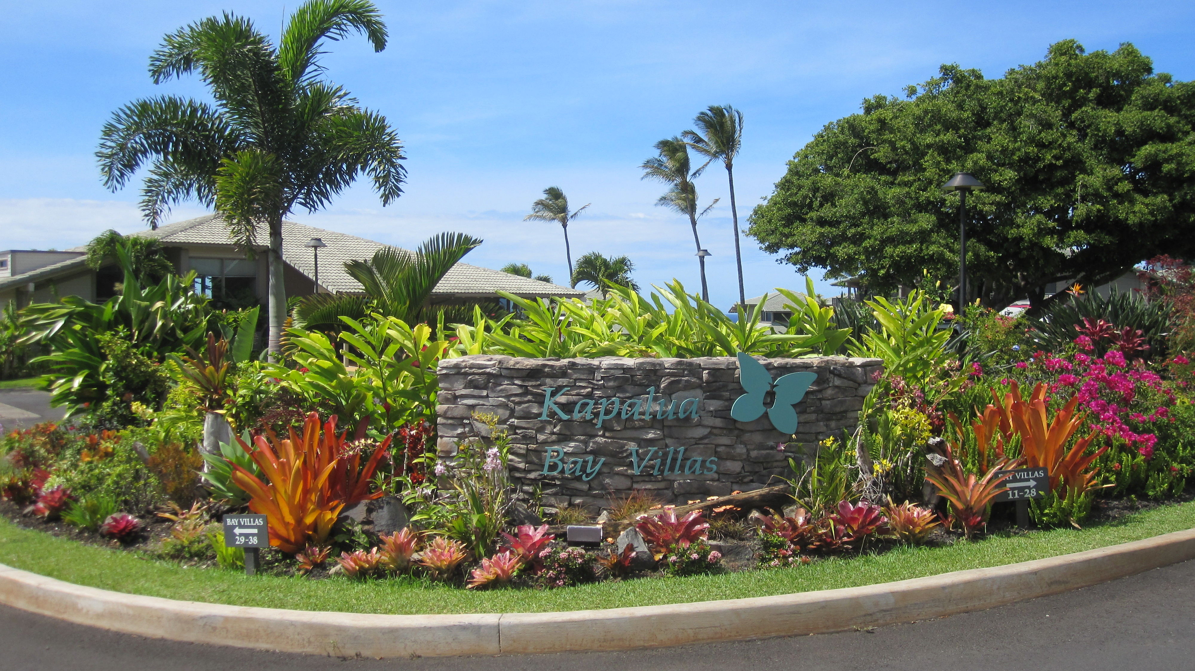 Entrance to Kapalua Bay Villas