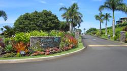 Entrance to Bay Villas