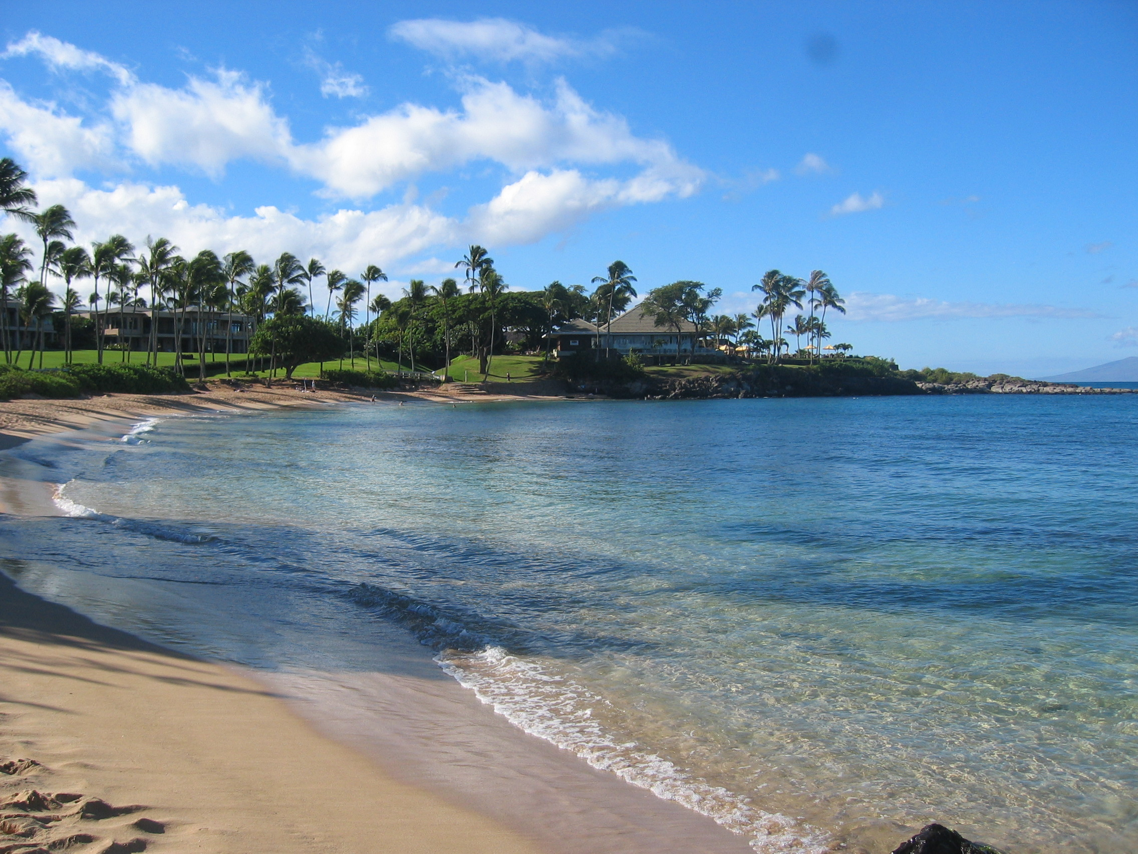 Kapalua Resort Beach View